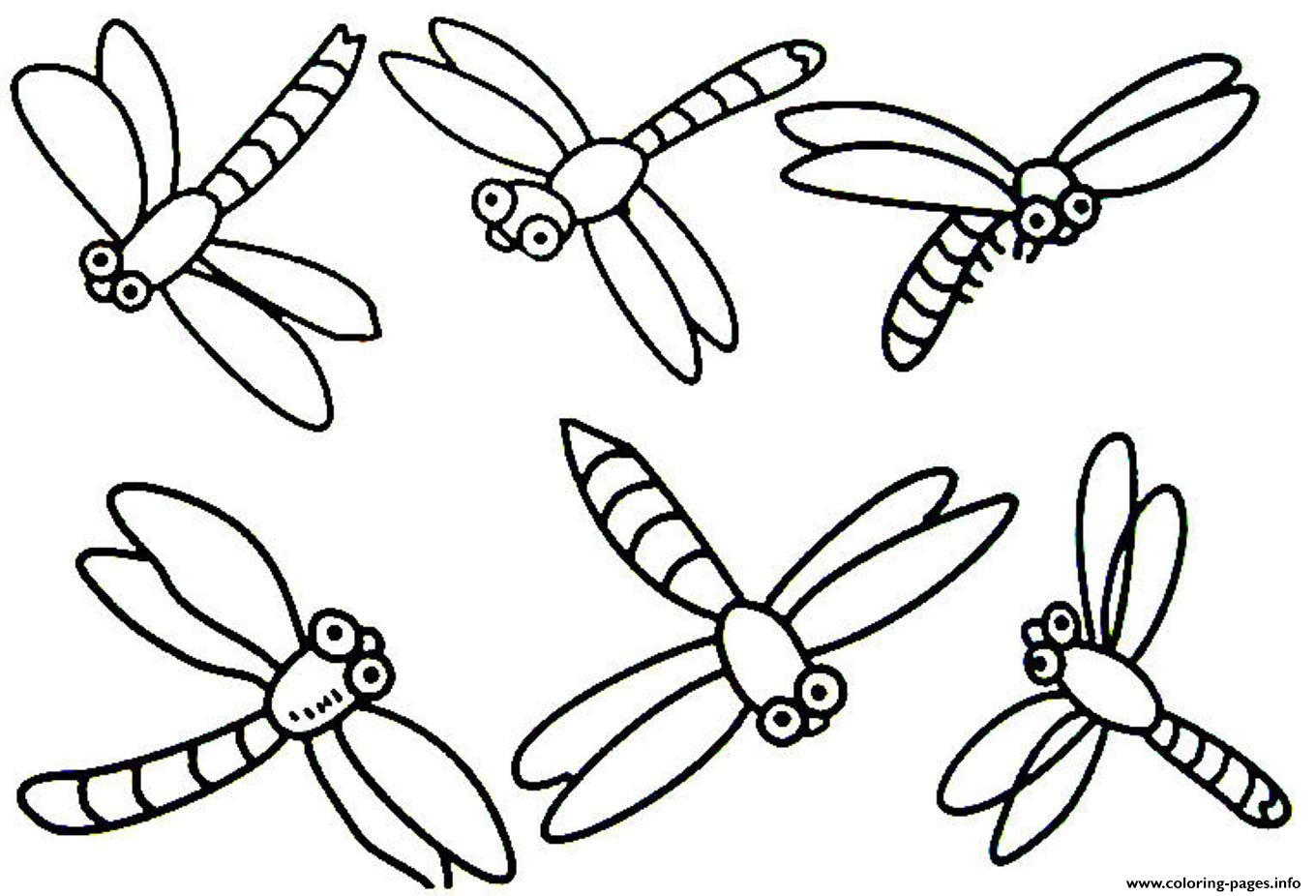 Dragonfly Coloring Pages to Print - Get Coloring Pages | 926x1360
