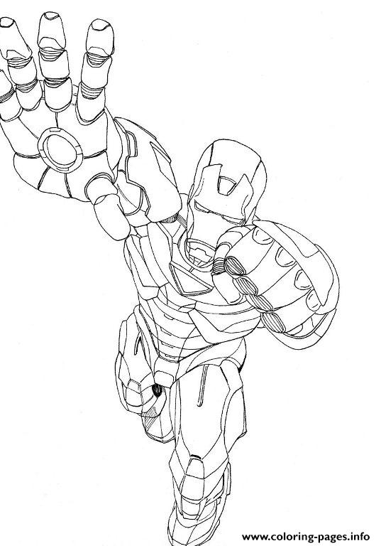 Free Iron Man S For Boysae14 Coloring Pages Printable