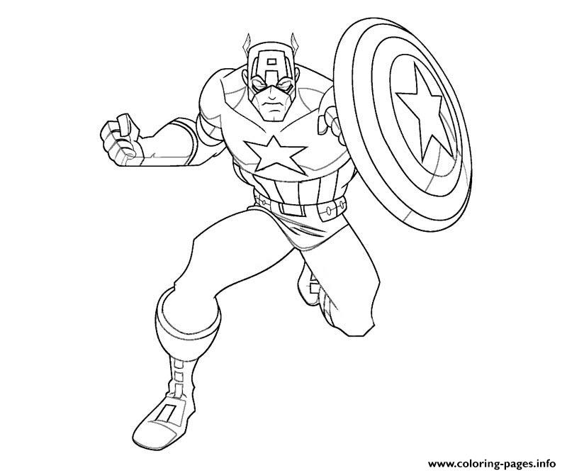photo regarding Captain America Printable named Captain The united states S For Little ones Freec02b Coloring Webpages Printable