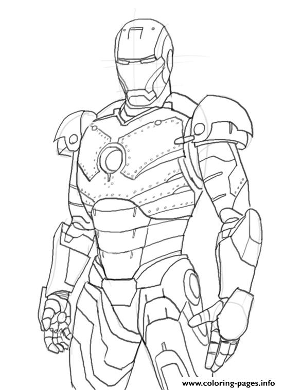 Iron Man Colouring In Pages4b78 Coloring Pages Printable