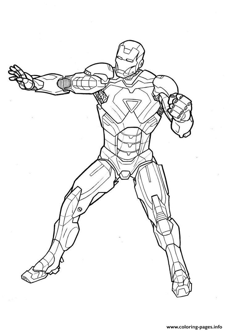 Iron Man S Free To Print4460 Coloring Pages Printable