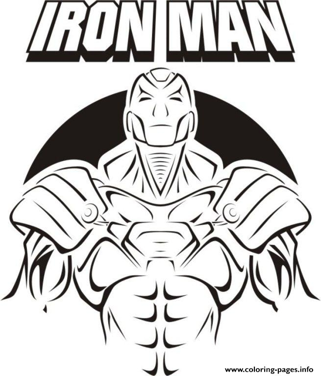 Iron Man Cover 6019 Coloring Pages