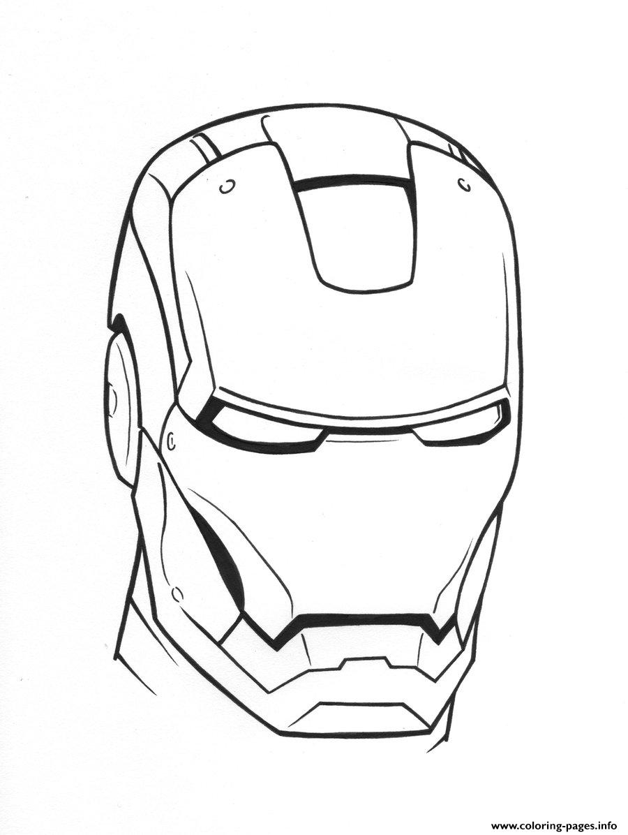 image relating to Iron Man Mask Printable identified as Iron Male Helmet Perspective58 Coloring Webpages Printable