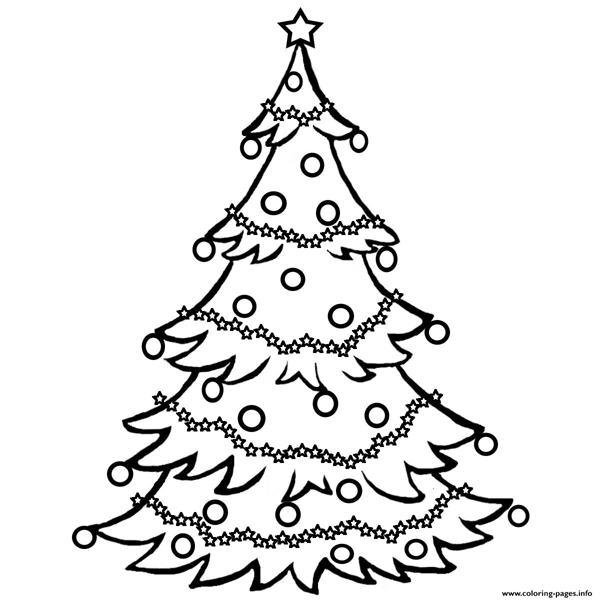 christmas tree free0ff6 coloring pages - Coloring Pages Christmas Trees