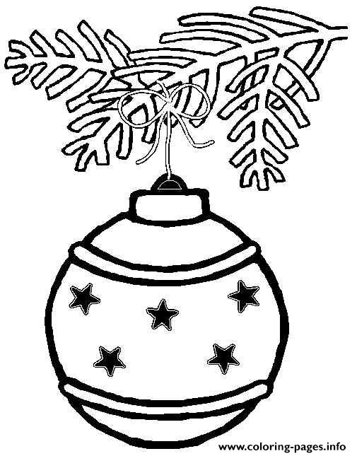 Printable S Christmas Ornament Starsaa8c coloring pages