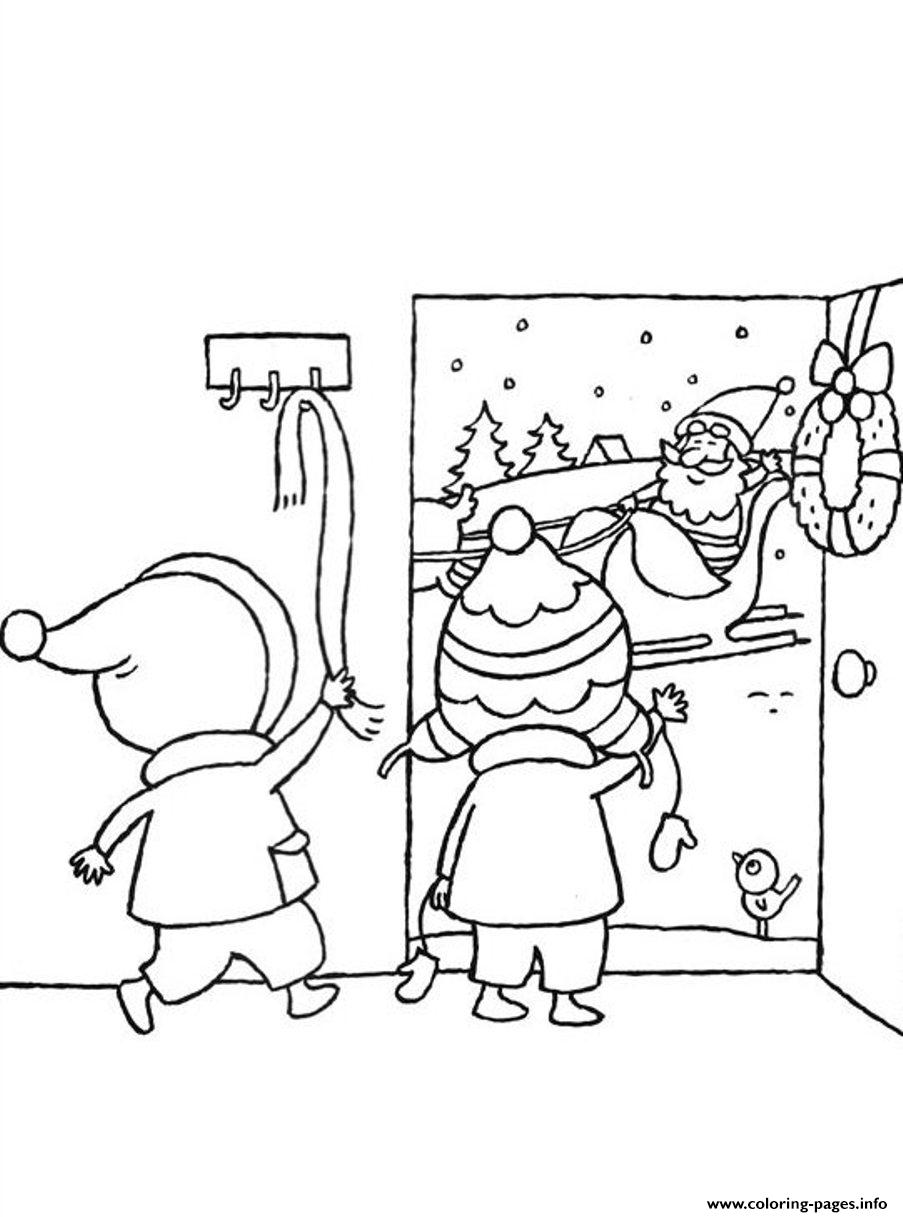 Weling Santa Claus E31a Coloring Pages Printable