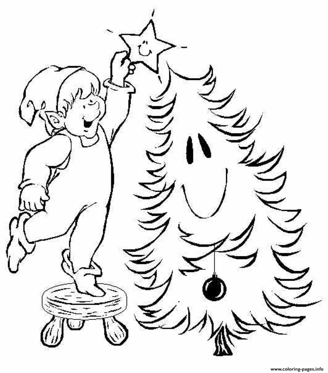 Christmas Elf S Freebbd9 coloring pages