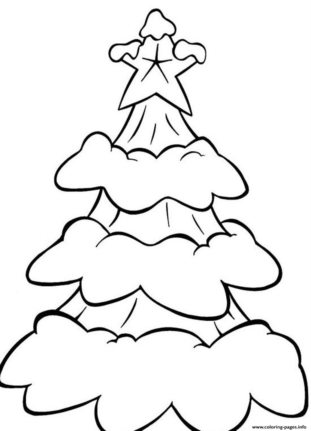 Free S Christmas Snow In A Tree273f coloring pages