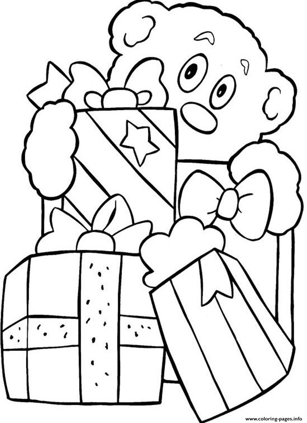 Printable S Christmas Presentsd12b coloring pages