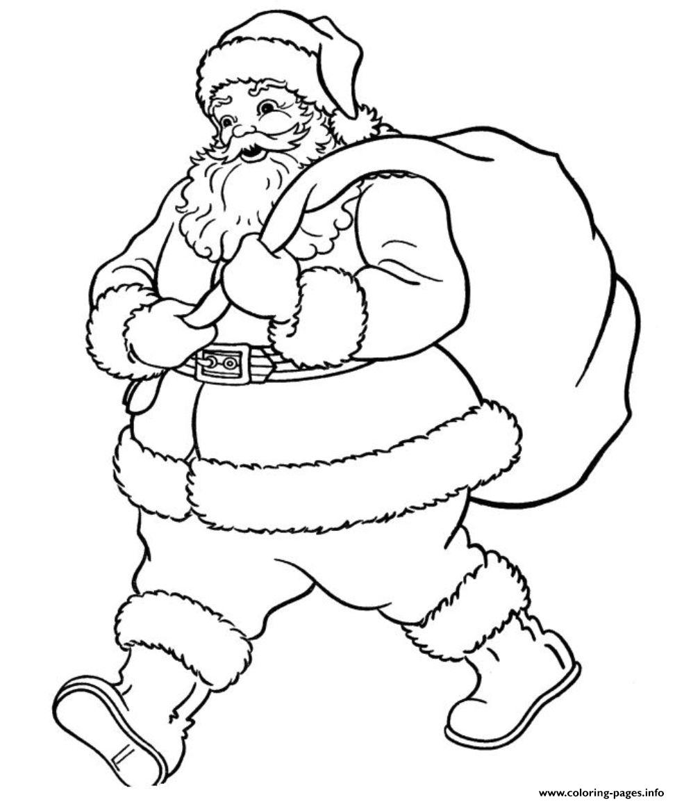 Coloring Pages Of Santa Claus Wants To Go605b Coloring Pages Printable