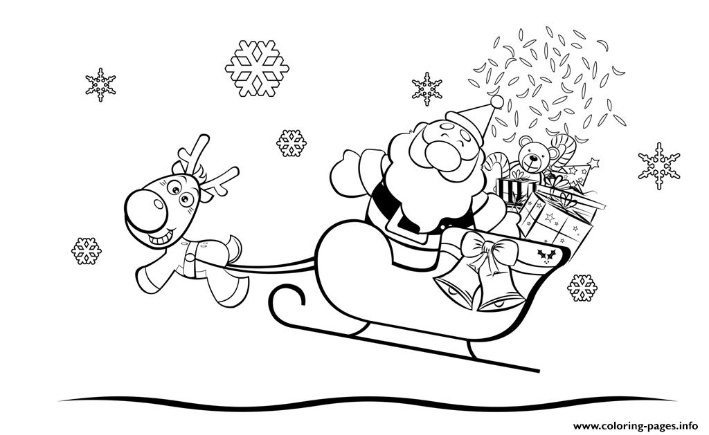 Coloring Pages Of Santa Claus For Children5a8a coloring pages