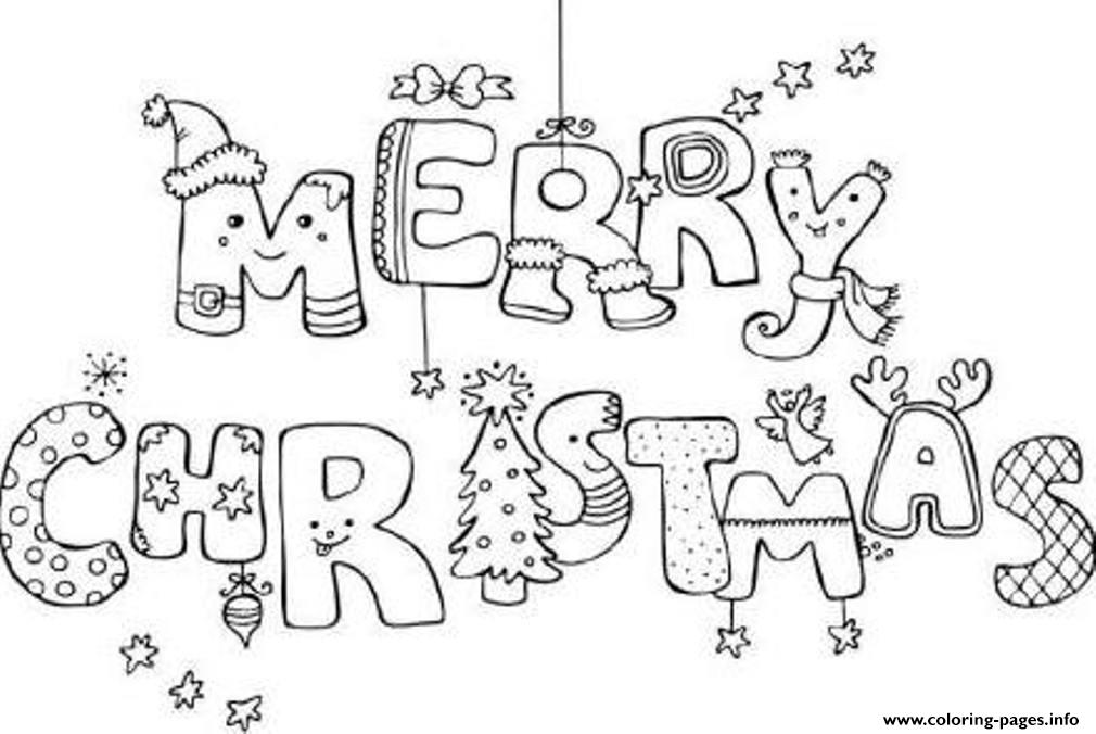 Coloring Pages For Merry Christmasc83d coloring pages