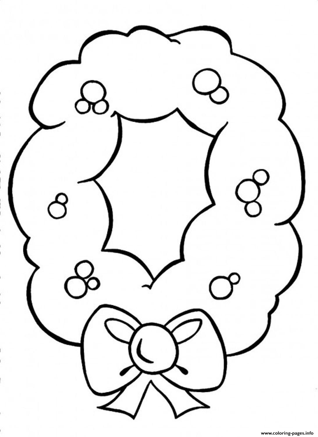 A Pretty Ornament For Christmas Printable S49d3 coloring pages