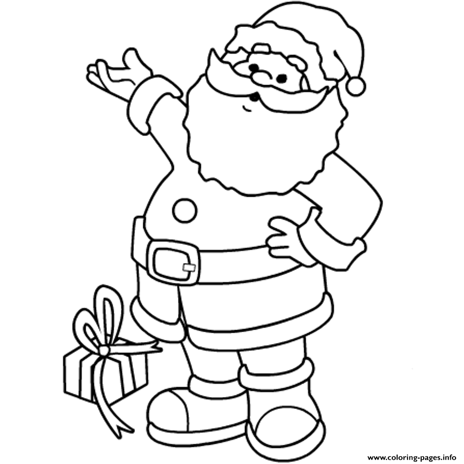 image relating to Santa Printable Coloring Pages called Xmas S Printable Santa Claus69f3 Coloring Webpages Printable