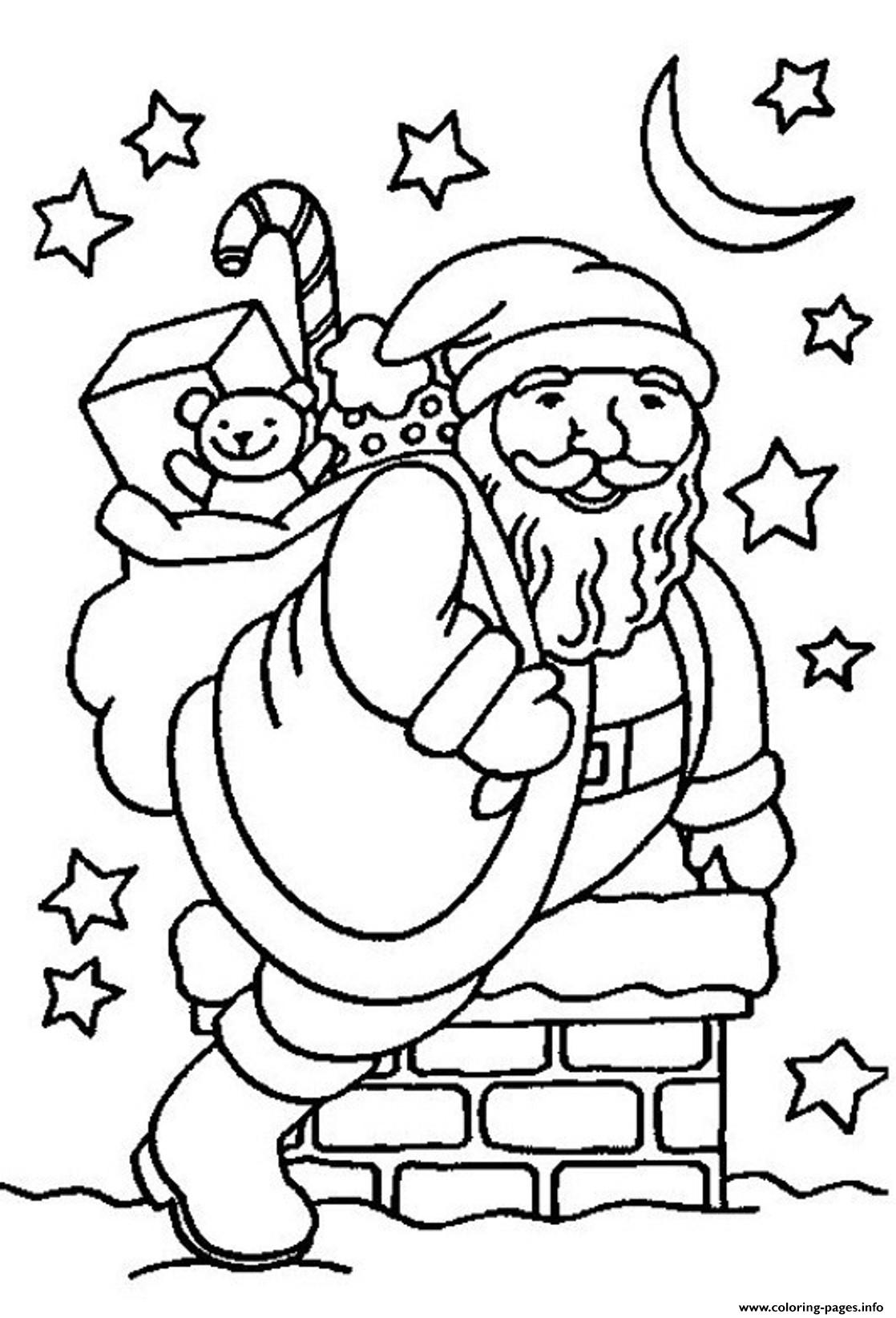 into pit santa 0a24 coloring pages printable