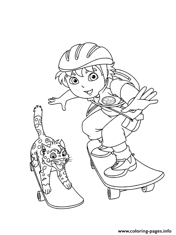 Baby Jaguar And Diego S For Freeef0c Coloring Pages
