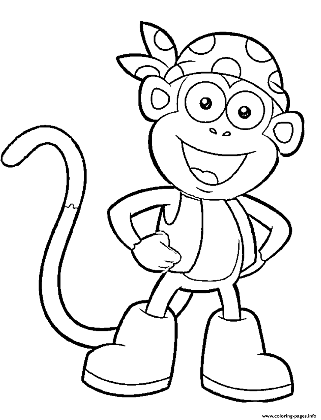 - Dora Printable S Boots Character451a Coloring Pages Printable