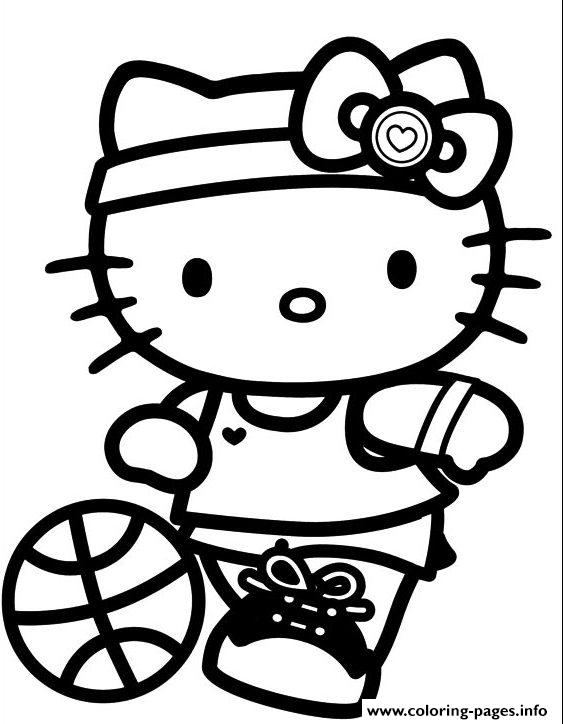 Sport Hello Kitty S For Girls Free2bd6 Coloring Pages Print Download 398 Prints