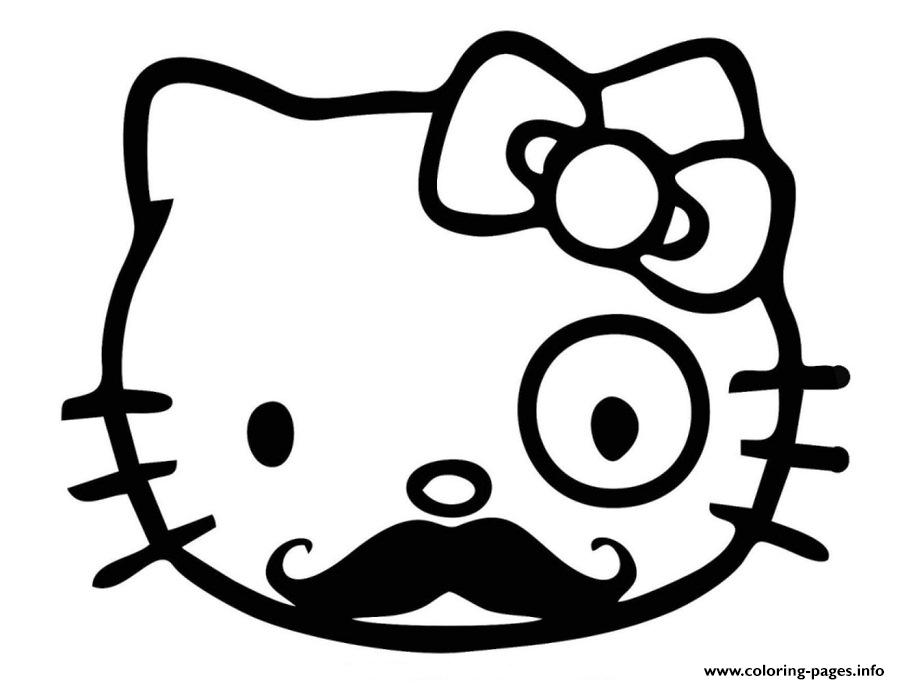 Like A Sir Hello Kitty 780d coloring pages