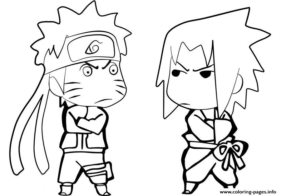 coloring pages anime naruto sasuke free349e Coloring pages Printable