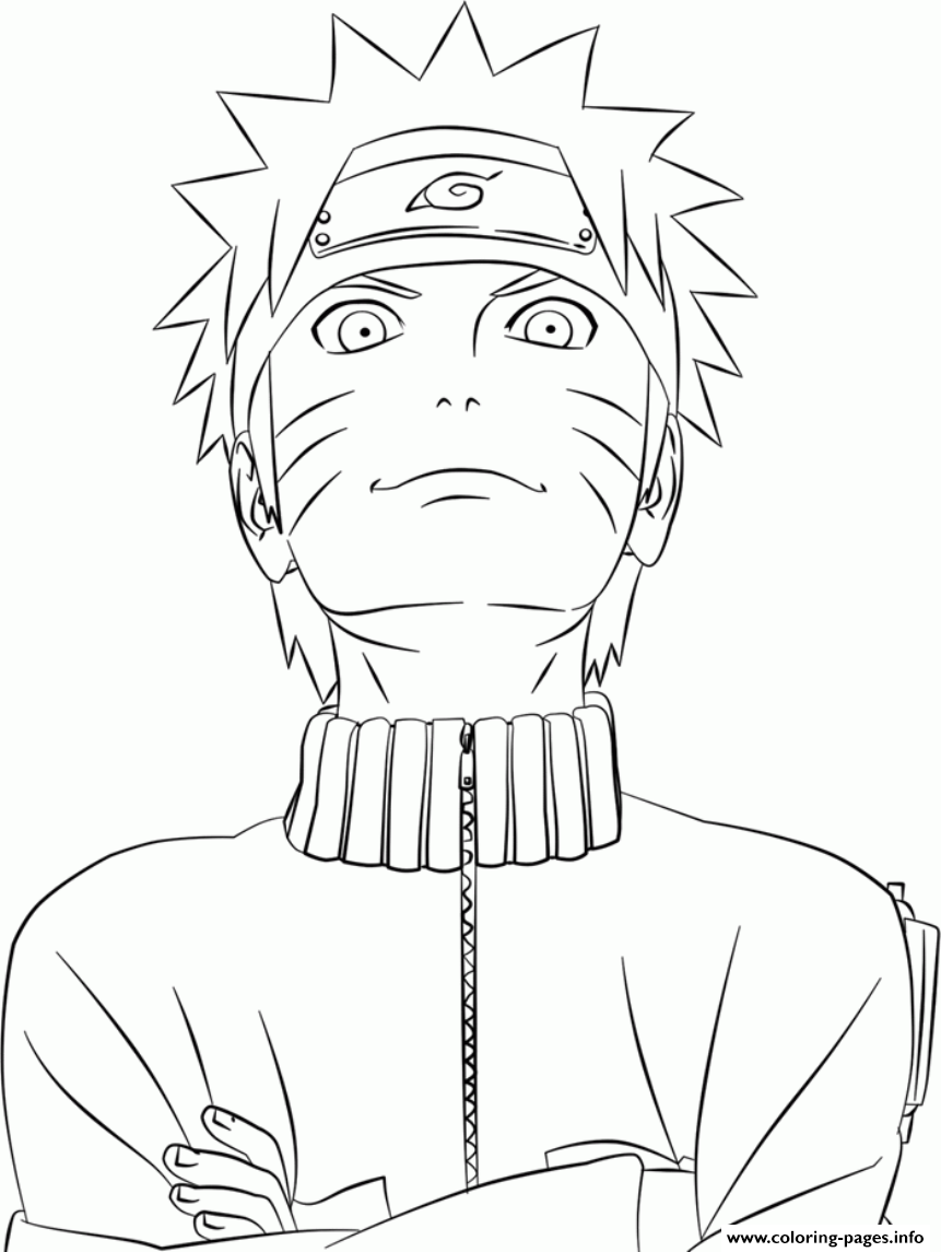 Cool Uzumaki Naruto Se01e Coloring