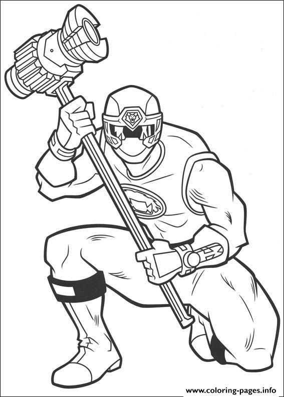 Power Rangers S For Kidsc84b coloring pages