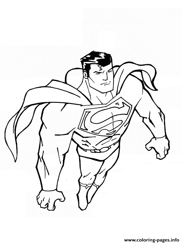 Amazing Superman S Kids Printableac08 coloring pages
