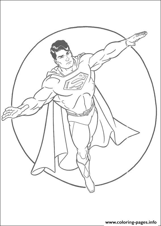 Old School Superman Coloring Page93d6 Pages