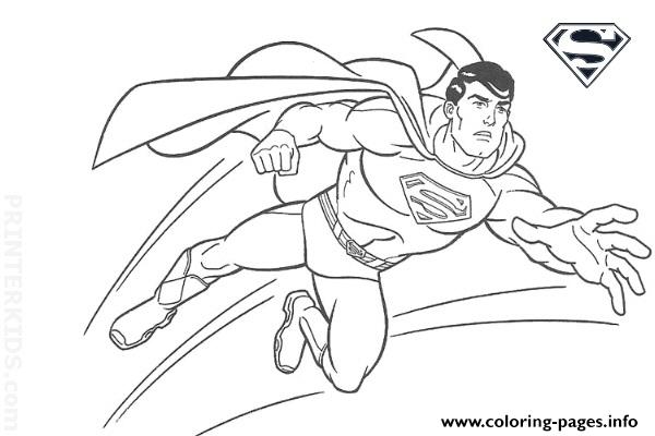 superman coloring pages free download printable - Printable Coloring Pages Superman