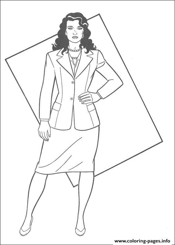 Lois Lane Coloring Page7e07 coloring pages