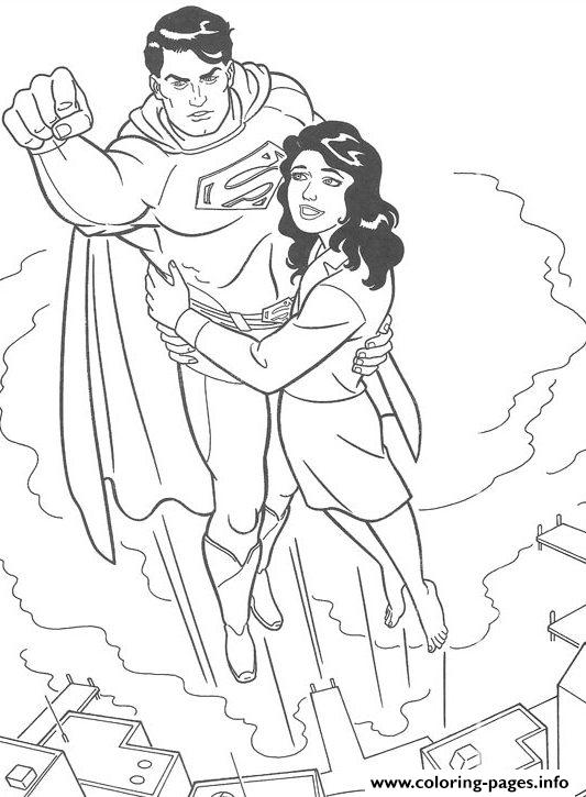 Hero Superman Sd714 coloring pages