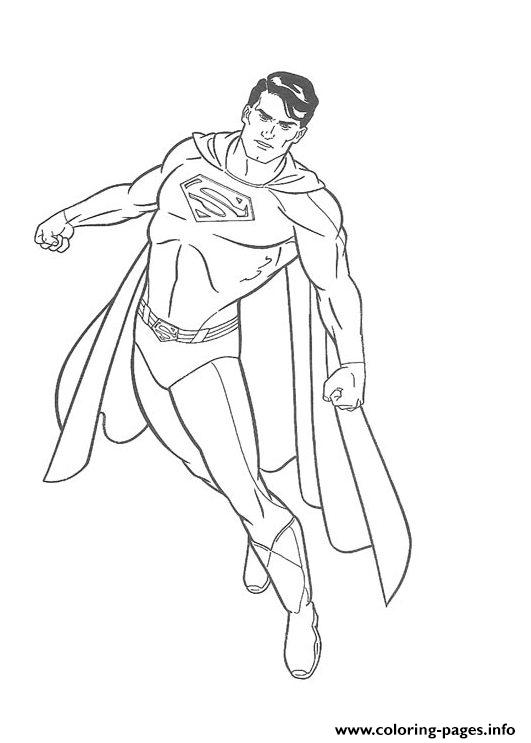 Superman S For Kids Printable Superhero506c coloring pages