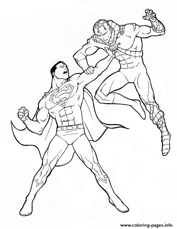 powerful superman coloring page170e coloring pages printable