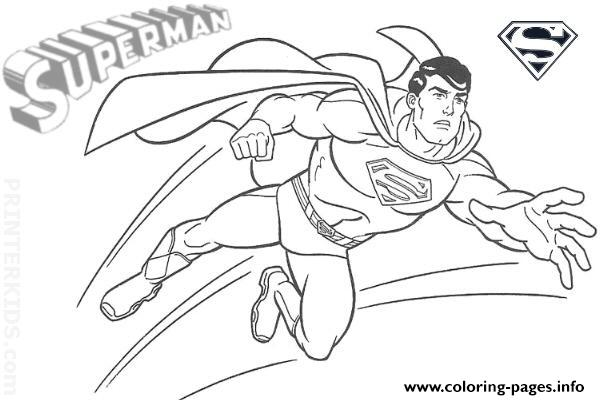 Super Hero Superman S For Kids Printable72e6 coloring pages