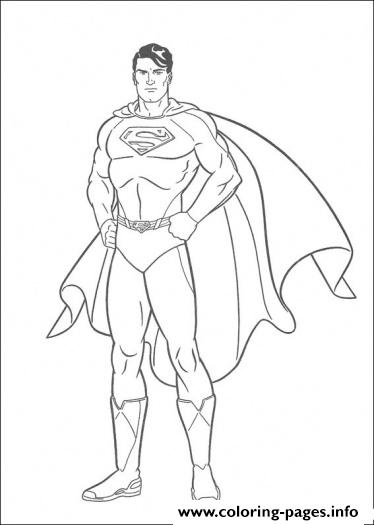 Superhero Superman  For Kidsd7af coloring pages