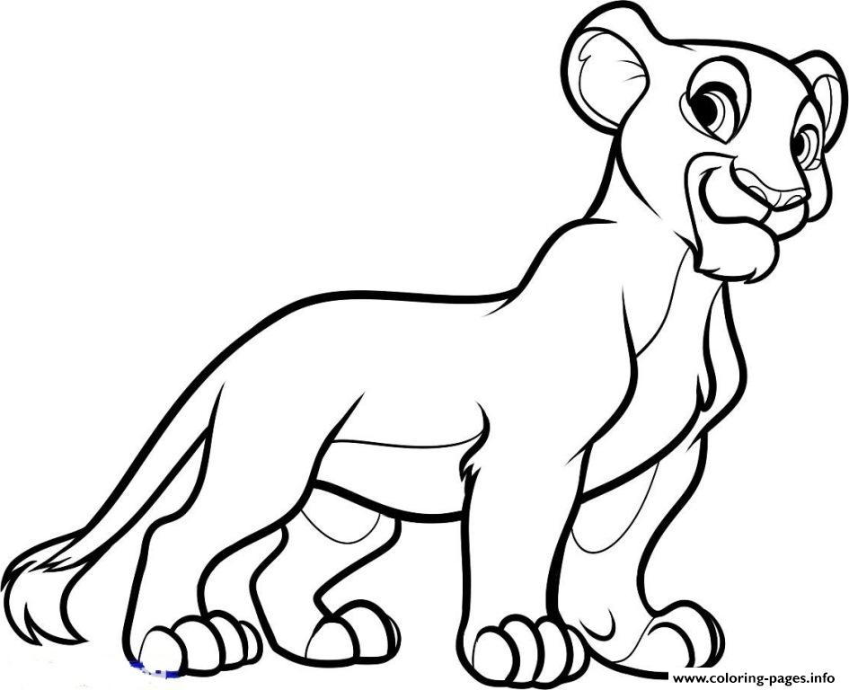 Little Nala 8e45 coloring pages