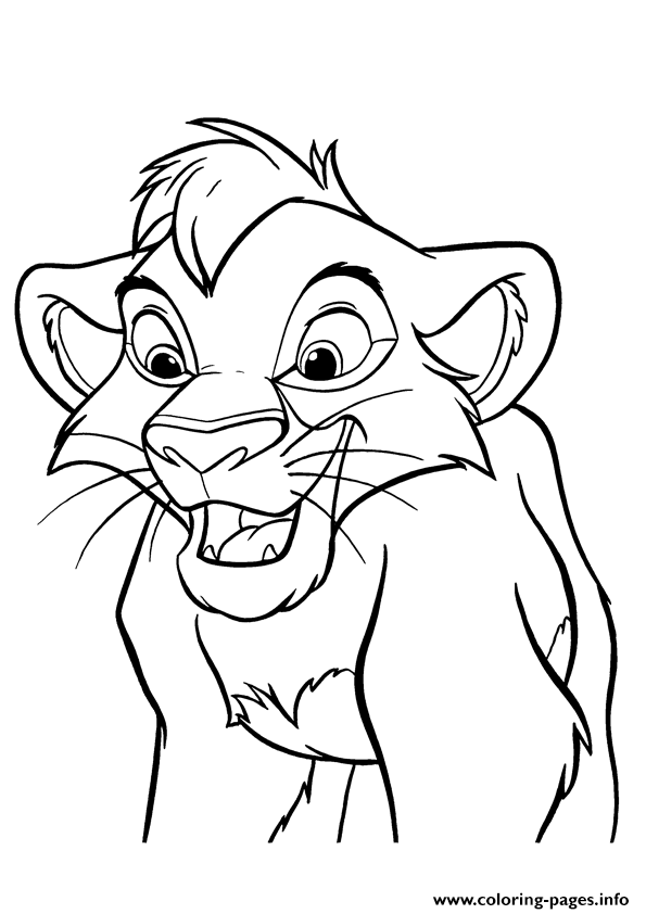 Lillte Lion King 20b9 coloring pages