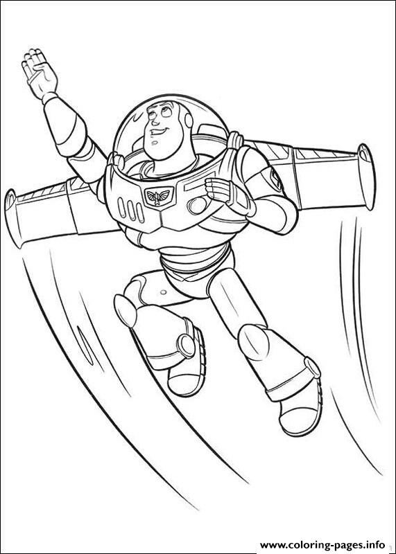 Buzz S Printable Toy Story Cartoonc339 coloring pages