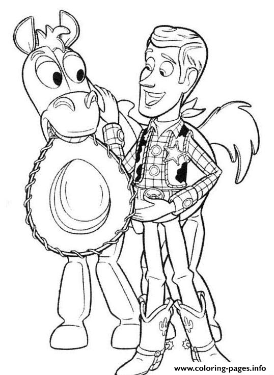 Free Printable Toy Story Coloring Pages For Kids | 736x538