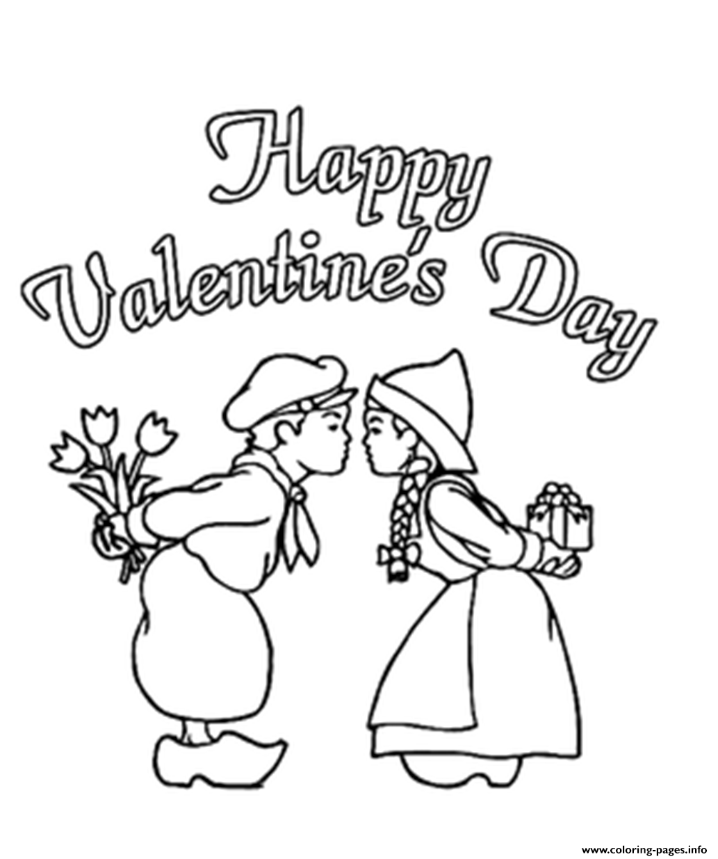 Coloring pages kiss - Coloring Pages Kiss 42