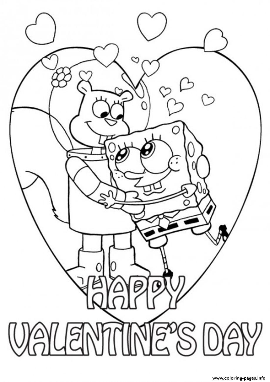 Sandy And Spongebob Valentine Cdde
