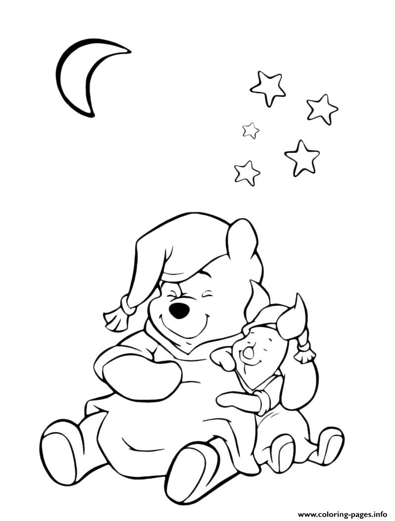 Winnie And Piglet Pig S To Printa6e3 Coloring Pages Printable