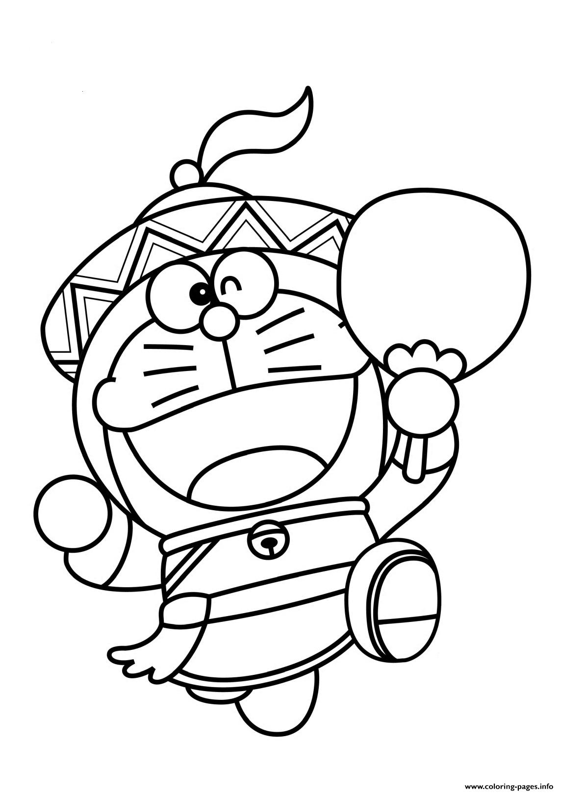Doraemon As Chinese 6823 Coloring