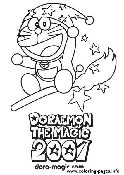 Doraemon Coloring Book Download The Wizard Pages Printable
