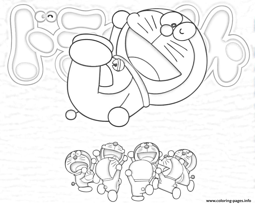 Free coloring page doraemon - Free Coloring Page Doraemon 68