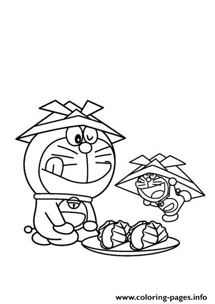 Doraemon And His Miniature 7a7f Coloring Pages
