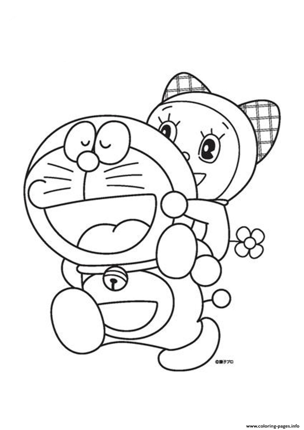 Cartoon S Doraemon For Kidsd6d2 Coloring Pages Printable