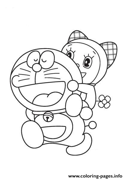 Doraemon And Dorami 8a71 coloring pages
