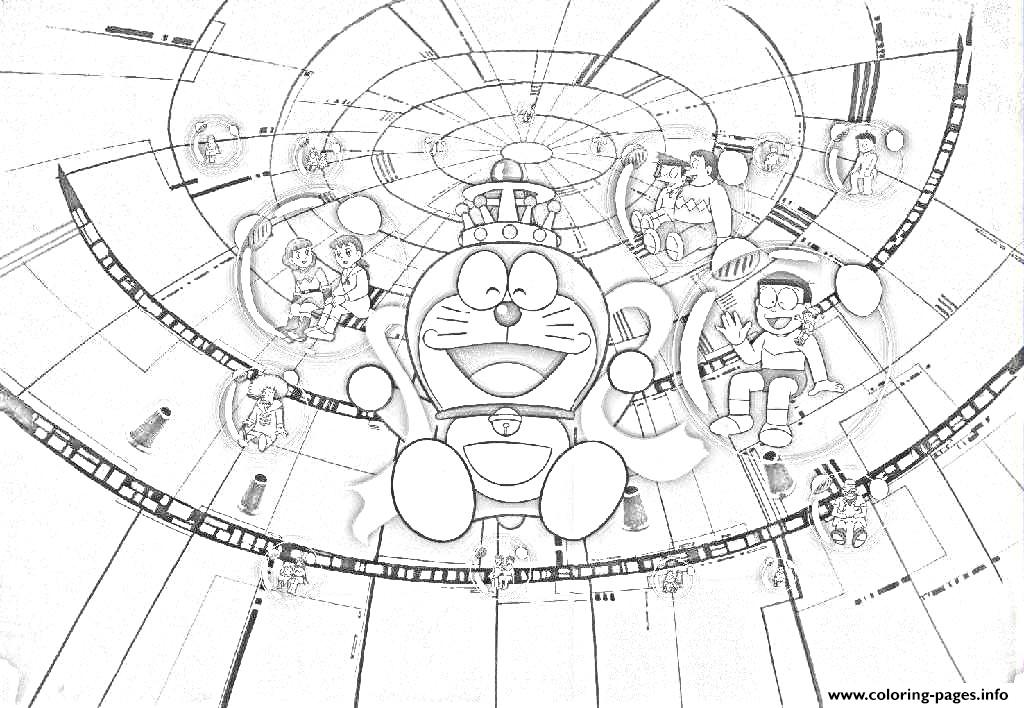 Doraemon In China 3fa0 Coloring Pages
