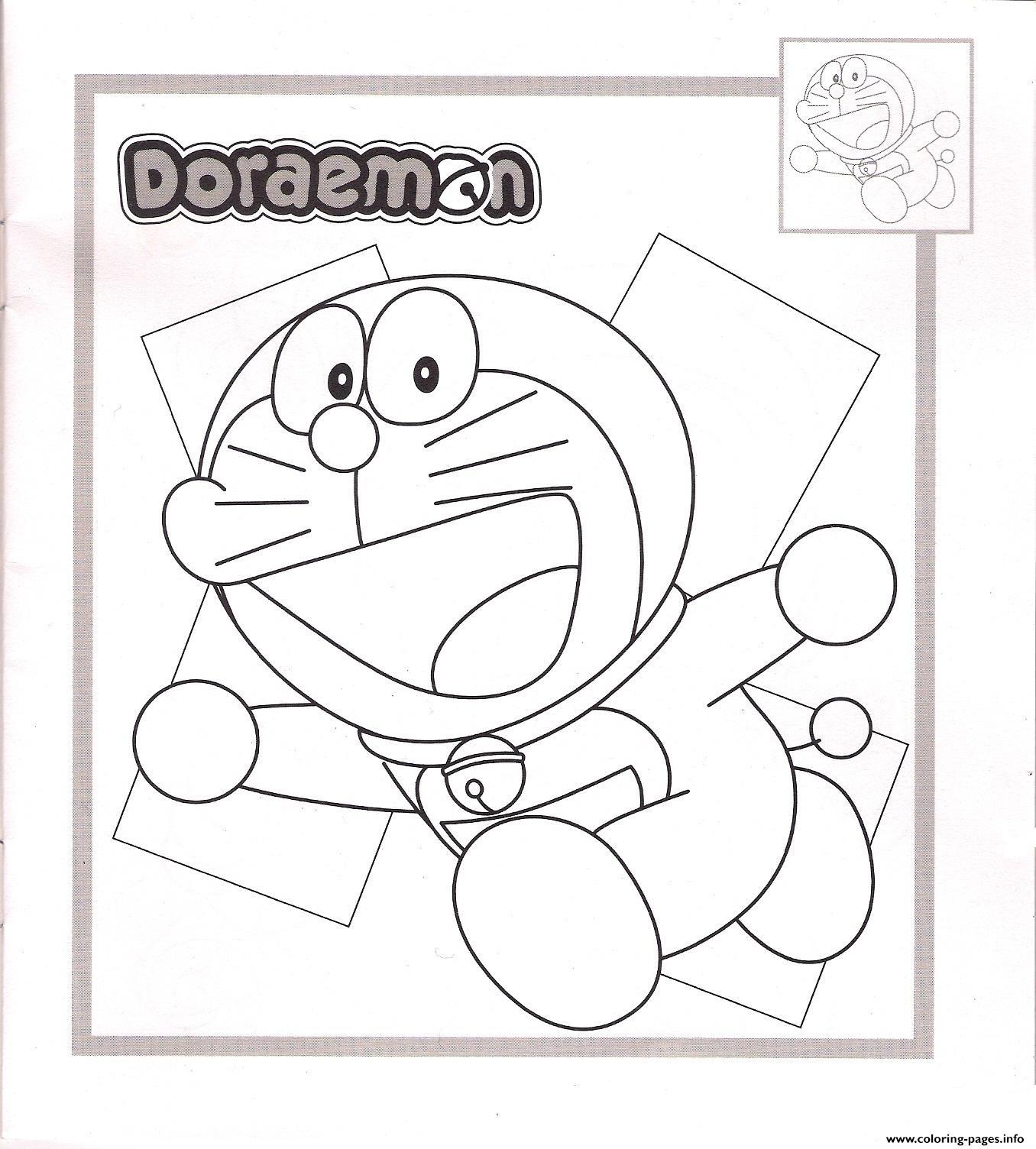 Cowboy Doraemon A9f4 Coloring Pages